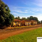 Antiga vila ferroviária ao lado da estação, muito linda.