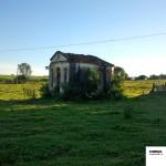 Capela abandonada bem em frente de Cobiça.