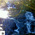 Pequena cachoeira em Santa Esméria.