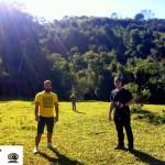 Parte da equipe do Projeto: Rodrigo, Capeta e Pedro.