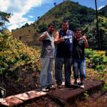 Douglas, Eu e o Luis Fernando.