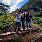 Junior, Eu e o Luis Fernando.